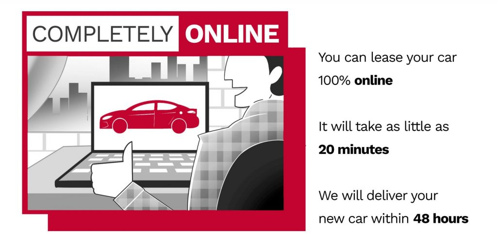 car leasing completely online